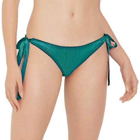 Diane Houston Jade Vivien Silk Tie Side Knicker