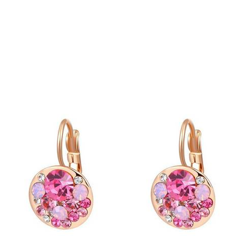 Ma Petite Amie Rose Gold Plated Clip Earrings