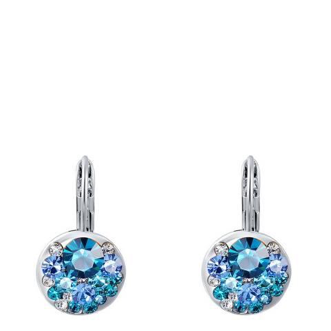Ma Petite Amie Gold Plated Sapphire Earrings