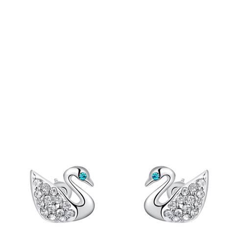 Ma Petite Amie Silver Plated Elegant Jewellery Set