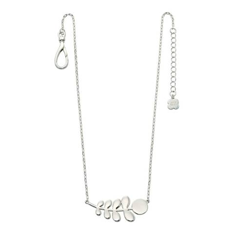 Orla Kiely Sterling Silver Stem Necklace