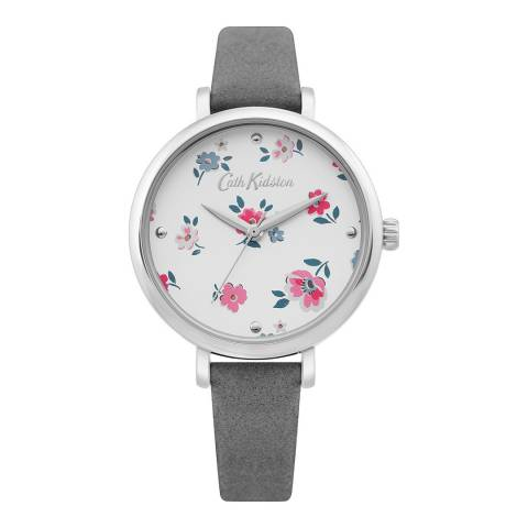 Cath Kidston Grey Brampton Ditsy Flower Watch