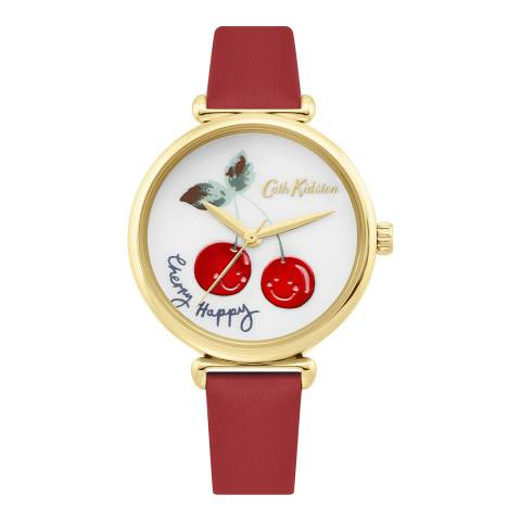 Cath Kidston Red Cherry Happy Watch