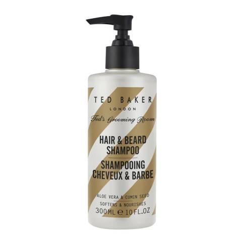 Ted Baker Ted's Grooming Hair & Beard Shampoo 300ml