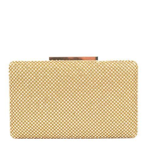 Renata Corsi Gold Clutch Bag