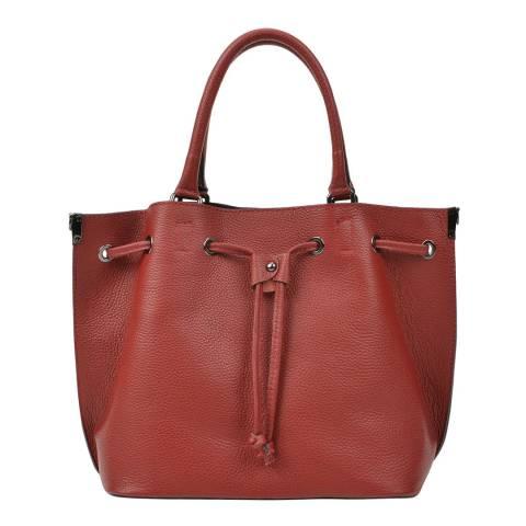 Renata Corsi Red Leather Handbag
