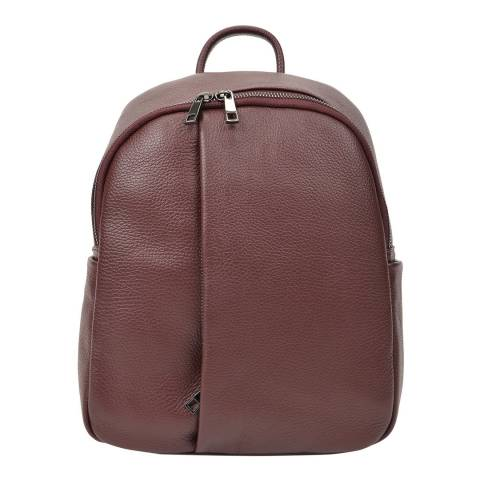Renata Corsi Wine Leather Backpack