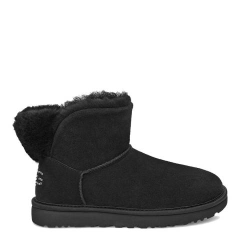 UGG Black Classic Bling Mini Boot