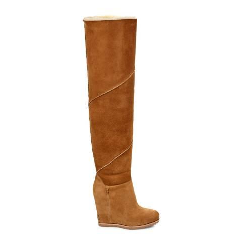 UGG Chestnut Classic Mondri Over The Knee Boot