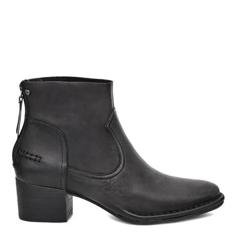 UGG Black Bandara Ankle Boot