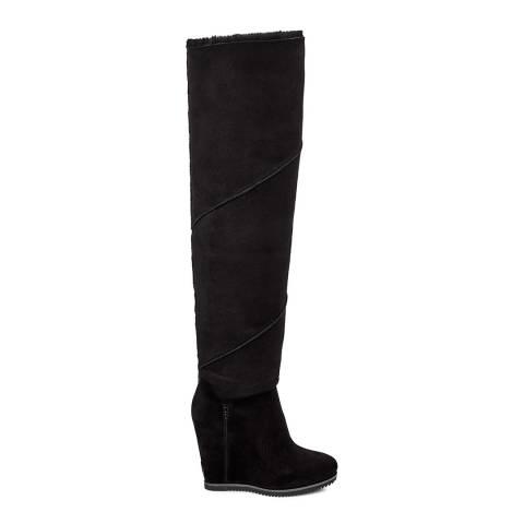 UGG Black Classic Mondri Over The Knee Boot