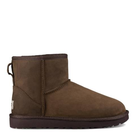 UGG Chestnut Classic Mini Leather Boot