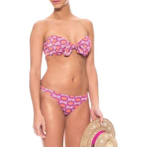 Tatiane De Freitas Holly/Red Alegria Imprime Bikini Set