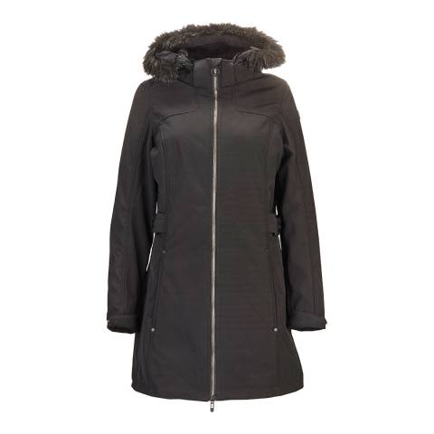 Killtec Women's Black Solona Parka Jacket