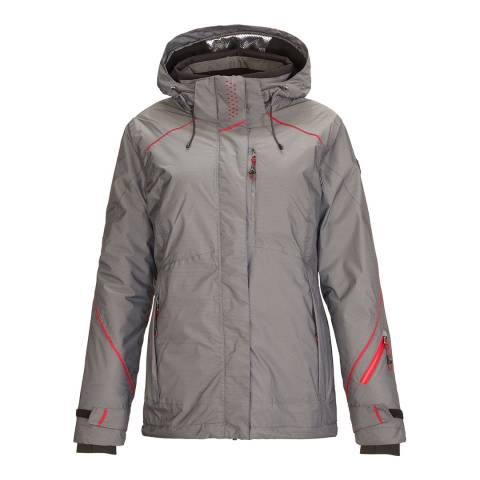 Killtec Women's Grey Sarlia Hooded Ski Jacket