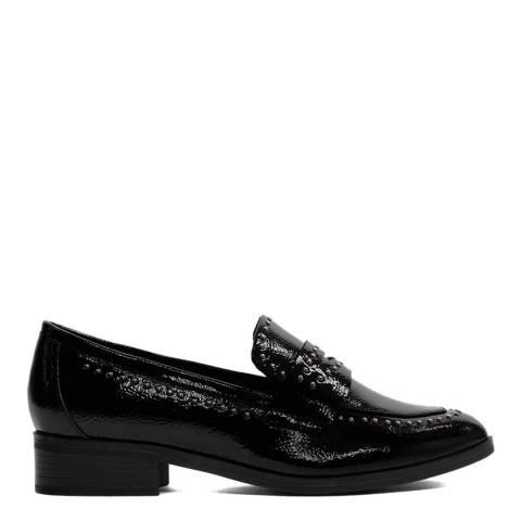 Aldo Black Agroania Patent Loafers