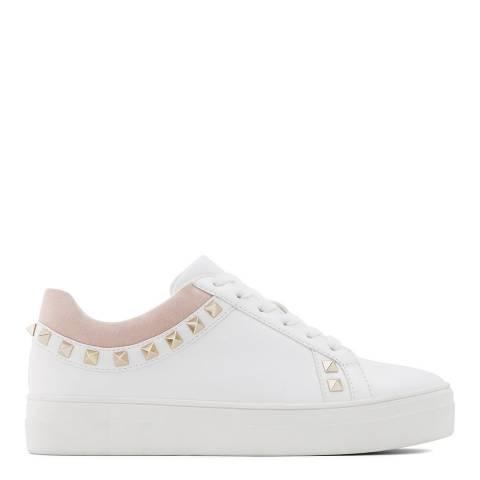 Aldo White/Multi Prigolia Flatform Sneakers