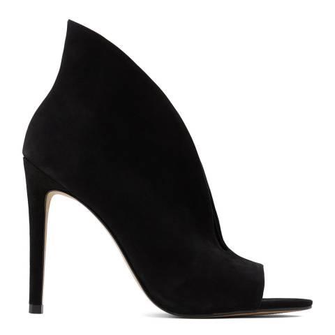 Aldo Black Suede Tinindra Heeled Shoes
