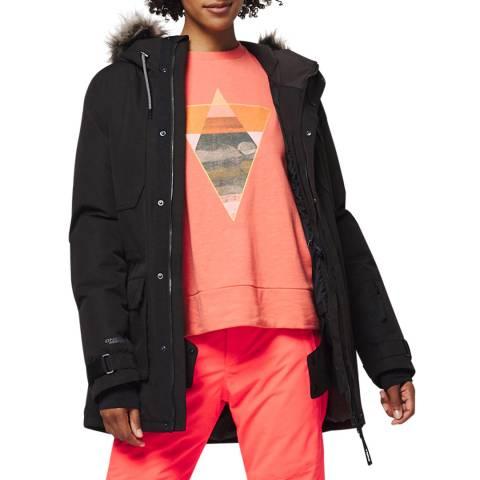 O'Neill Black Ski Parka Jacket