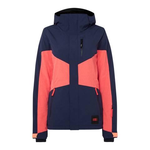 O'Neill Navy Coral Ski Jacket