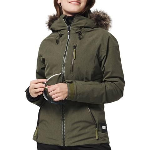 O'Neill Green Vauxite Ski Jacket