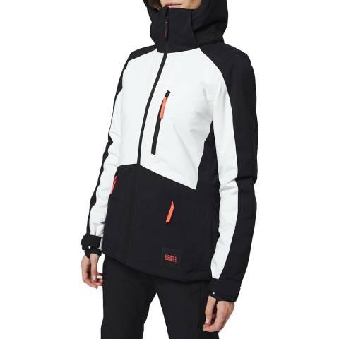 O'Neill Black/White Aplite Ski Jacket