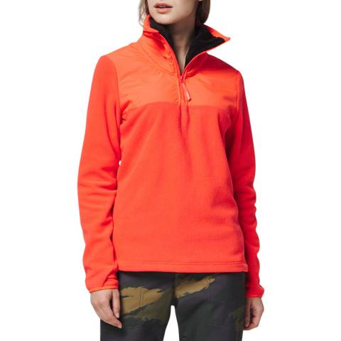 O'Neill Orange Original Half Zip Fleece