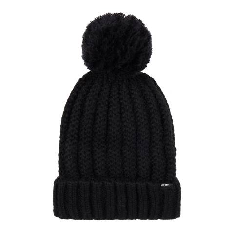 O'Neill Black Chunky Knit Beanie