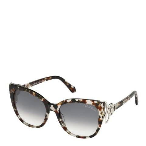 Roberto Cavalli Women's Grey Roberto Cavalli Sunglasses 54mm