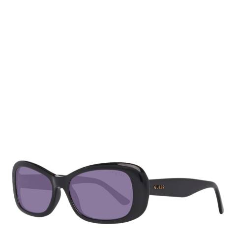 Guess Women's Black/Purple Guess Sunglasses 54mm