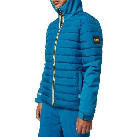 O'Neill Boys Seaport Blue Igneous Ski Jacket