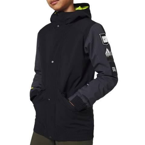 O'Neill Boys Black Out Decode-Bomber Ski Jacket