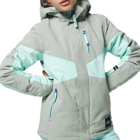O'Neill Girls Lily Pad Coral Ski Jacket