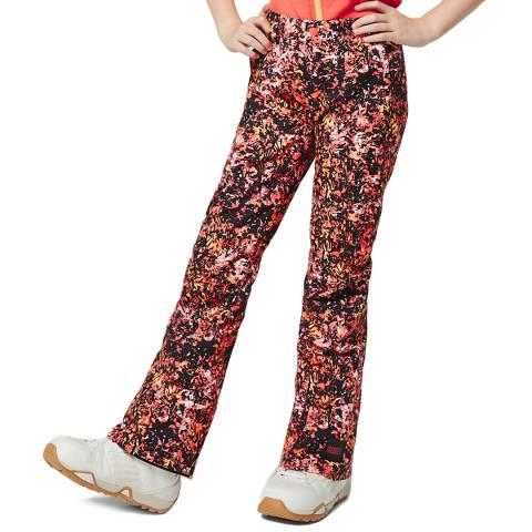 O'Neill Girls Black Aop Charm Slim Ski Pants