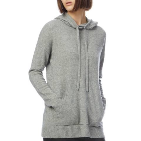 N°· Eleven Grey Cashmere Blend Hoodie