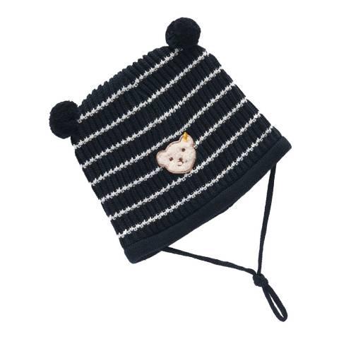Steiff Navy/White Stripe Hat