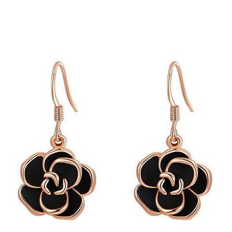 Ma Petite Amie Rose Gold Plated Classic Earrings