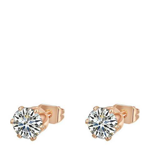Ma Petite Amie Rose Gold Plated Stud Earrings