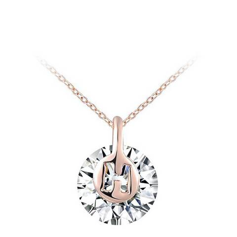 Ma Petite Amie Rose Gold Plated Elegant Necklace