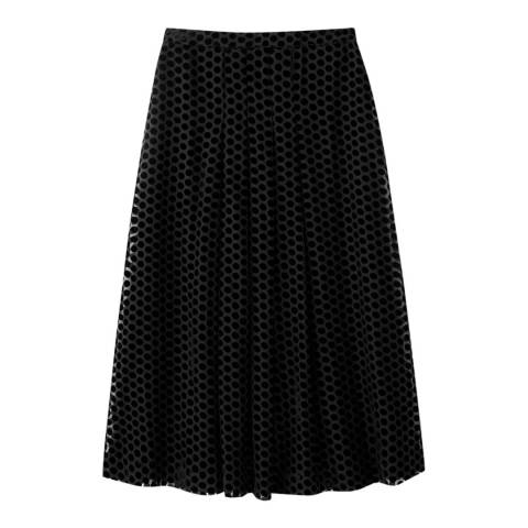 Pure Collection Soft Pleat Skirt
