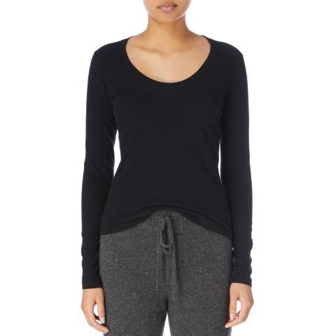 James Perse L/S Scoop Neck Top