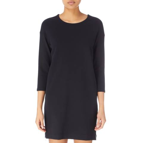 James Perse Black Size Zip Tunic Dress