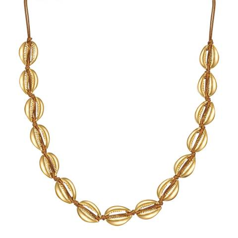 Iconic Collection Gold Shell Necklace
