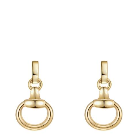 Iconic Collection Gold Link Earrings