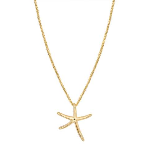 Iconic Collection Gold Star Necklace