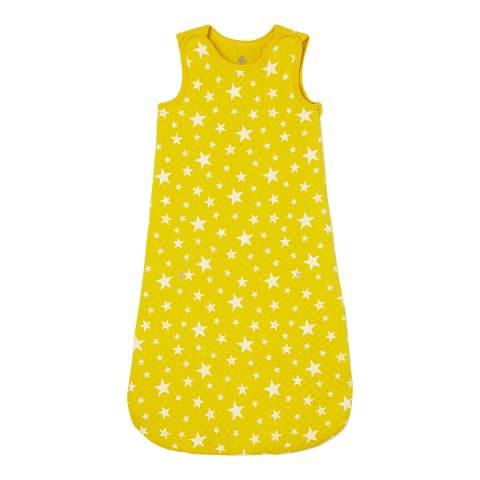 Petit Bateau Yellow Tube Knit Sleeping Bag