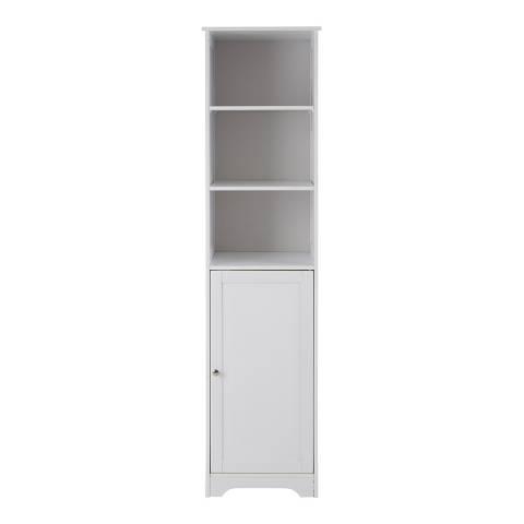 Premier Housewares Portern Bathroom, White Cabinet