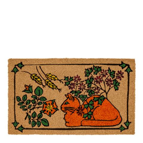 Entryways V&A Museum This Is the Cat Coir Doormat 60x90cm