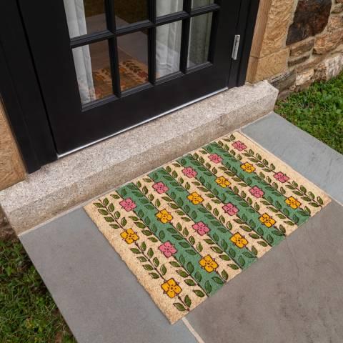 Entryways V&A Museum Espalier Coir Doormat 45x75cm