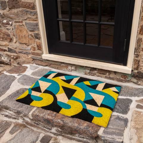 Entryways V&A Museum Art Deco Coir Doormat 60x90cm